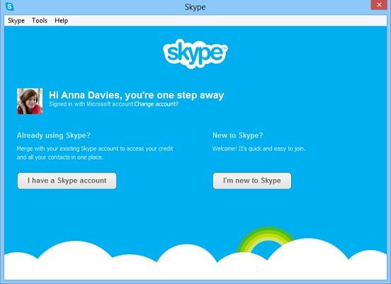 Messenger и Skype соединяются