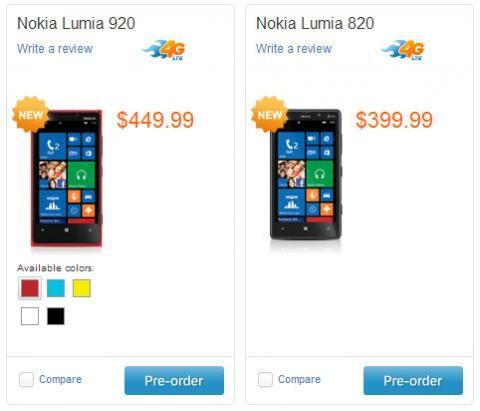 В Соединенных Штатах Нокия Люмия 920 стоит вдвое меньше, чем в РФ