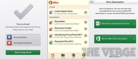 Майкрософт Офис для платформ iOS и Андроид