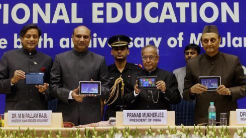 В Индии произведен сверхбюджетный планшетник