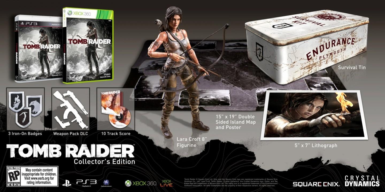 Анонс коллекционного издания Tomb Raider