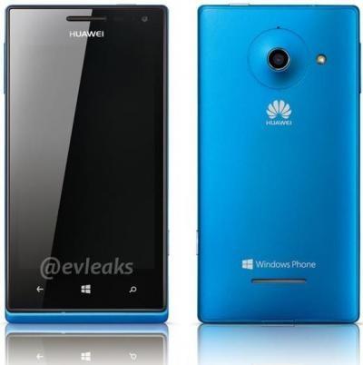 Huawei готовит к выходу собственный первый Виндоус Phone