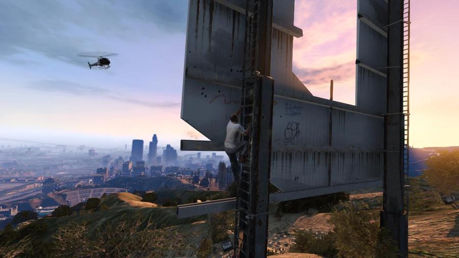 GTA 5: свежие снимки экрана – вертолет