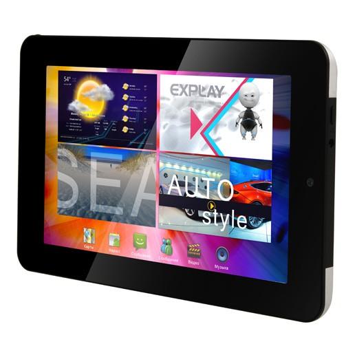 Explay объявила линейку 2-ядерных Android-планшетов