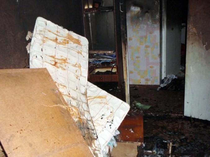 В Киеве на Подоле случился пожар в квартире