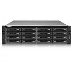 QNAP продемонстрировала шестнадцатидисковые сетевые накопители
