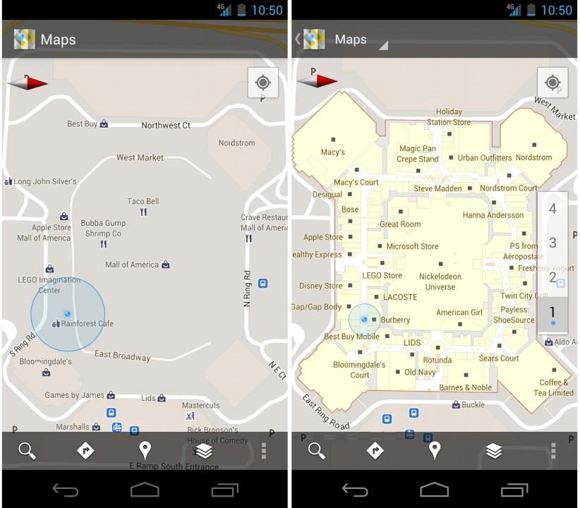Google обновила картографический сервис Google Maps