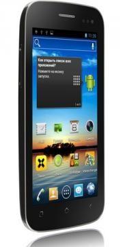 Fly продемонстрировал обновление - телефон Fly IQ450 Horizon