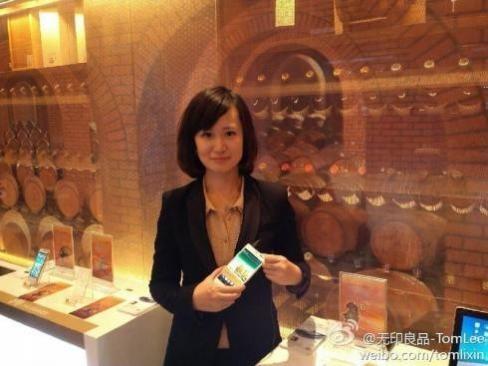 Huawei делает передовой телефон Ascend D2