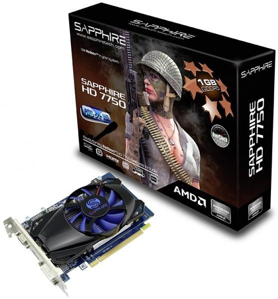 Sapphire Radeon HD 7750 OC Edition приятно удивит обладателя