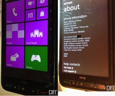 DFT сообщила об успешном портировании Windows Phone 8
