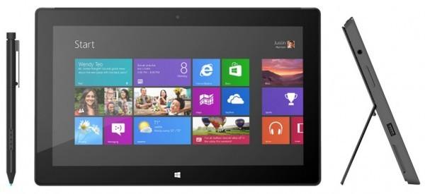 Microsoft Surface поступит в продажу в январе будущего года