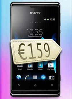 Названа цена смартфонов  Xperia E и Xperia Е dual