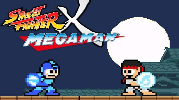 Анонс Street Fighter X Mega Man
