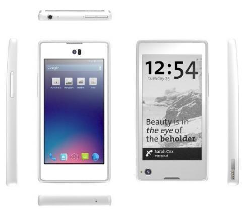 Yota выпустит смартфон YotaPhone с двумя экранами