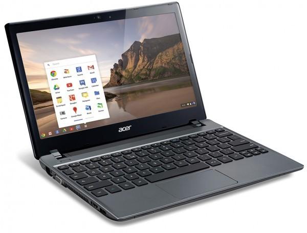 Acer представила премиум-версию портативника C7 Chromebook