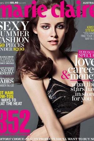 Кристен Стюарт украсила обложку  журнала Marie Claire ФОТО
