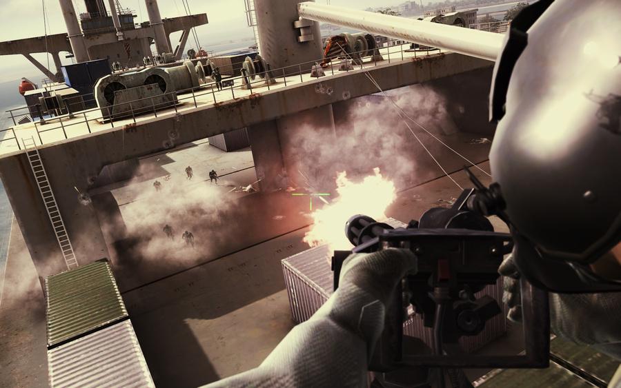 Фото: Assault Horizon - свежие снимки экрана и бокс-арт