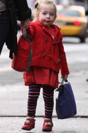 Сара Джессика Паркер с дорогими дочурками на прогулке ФОТО