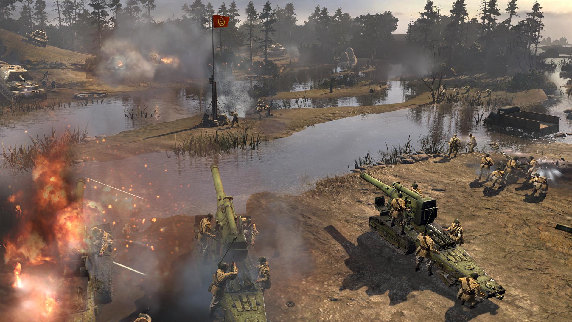 Фото: Свежие снимки экрана Company of Heroes 2