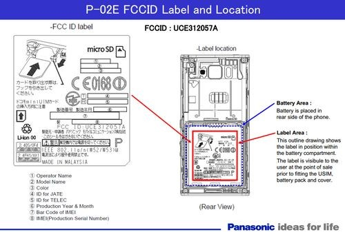 Телефон Sony P-02E готовился к попаданию в розницу