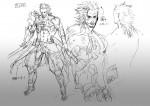 Фото: Концепт-арты Самуэля Metal Gear Rising: Revengeance