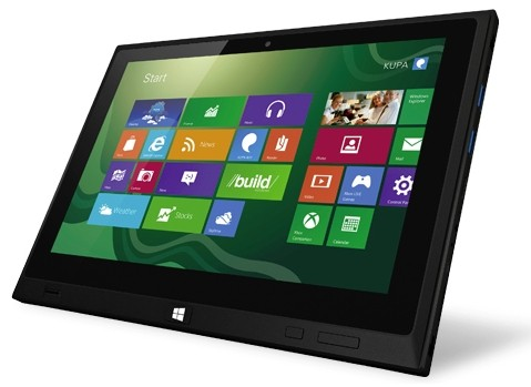 Kupa продемонстрировала планшетник X15 UltraNote на Виндоус 8