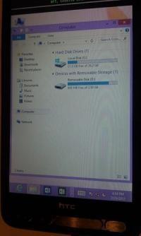 На телефон HTC HD2 определили Виндоус