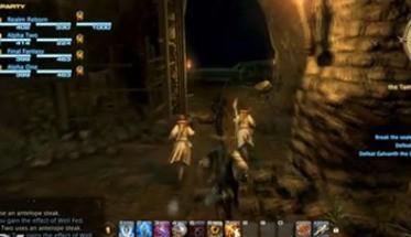 Трайлер: Final Fantasy XIV A Realm Reborn - атака подземелья