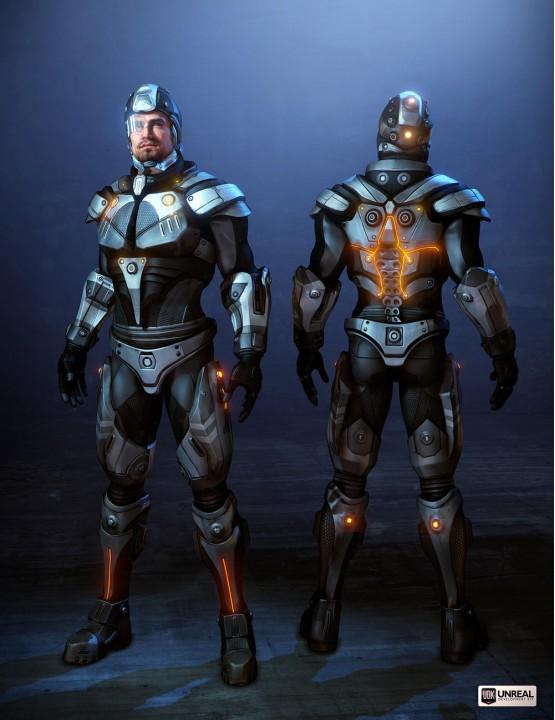 Видео: Возможности Unreal Engine в следующем Mass Effect