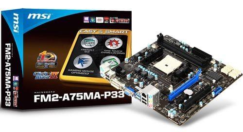 MSI FM2-A75MA-P33: дешевая оперативная память