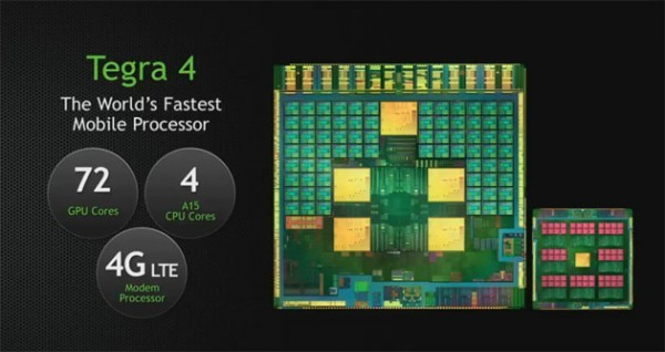Организация Nvidiа представила мобильную платформу Tegra 4