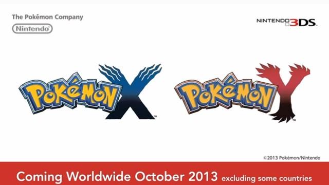 Анонс шестого поколения Pokemon X/Y для 3DS