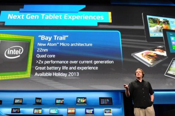 CES 2013: Intel опубликовала детали о чипсете Atom Z2580