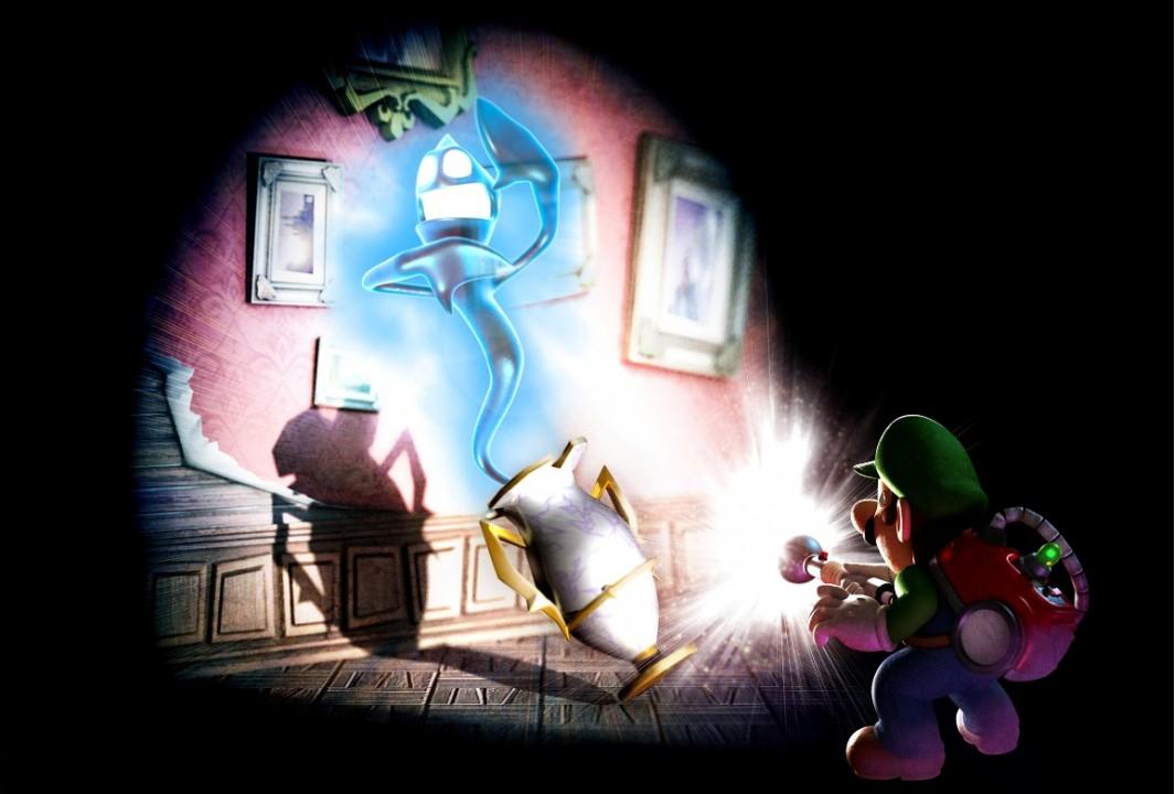 Пресс релиз Luigi'с Mansion: Dark Moon - бокс-арт и арты