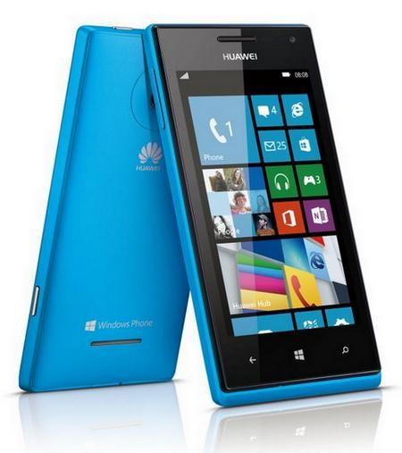 HuaweiAscend W1: 2 ядра на основе Виндоус Phone 8