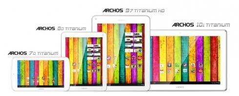 Titanium - Титановые микропланшеты от Archos c IPS-дисплеями