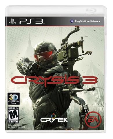 ФОТО: Последняя модификация бокс-арта Crysis 3