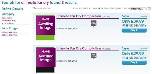 Сборники Ultimate Splinter Cell и Far Cry Compilation