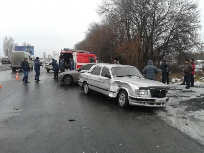 В Харьковском ДТП есть потерянный и поврежденные