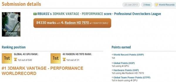 2 всемирных рекорда в 3DMark Vantage и 3DMark 11 Perfomance