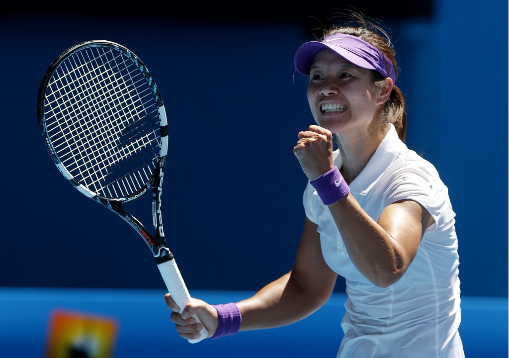 Ли На состоялась в конец  Australian Open разгромив Шарапову