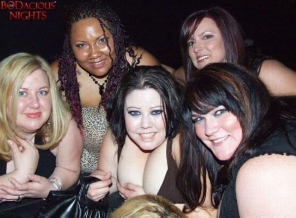 В Соединенных Штатах пользуются известностью вечерние клубы для гладких