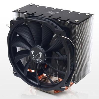 ASHURA: свежий башенный вентилятор для CPU Intel и AMD от Scythe