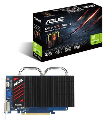 Карты памяти ASUS GeForce ДжиТи 630/ 620 в DirectCU Silent Серии