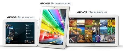 Archos продемонстрировала  микропланшеты Platinum на Cortex-A7 1,2 ГГц