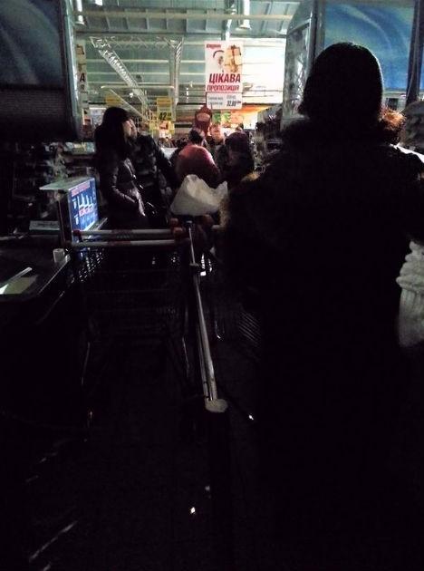"В супермаркете ""Караван"" настал ""конец света"""