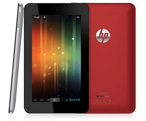 7-дюймовый Android-планшет HP Slate 7 с 2 ядрами за $170