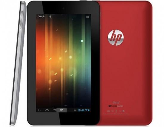 Hewlett-Packard продемонстрировала планшетник Slate 7 на  Андроид
