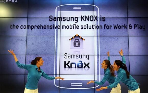 «Самсунг» KNOX - безусловная защита механизмов на Андроид